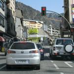 На автомобиле по Андорре