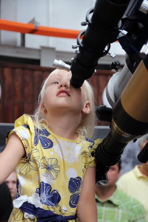 В обсерватории есть возможность взглянуть на звезды в телескоп