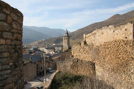 Старинная крепость в Сорте отличается хорошим состоянием