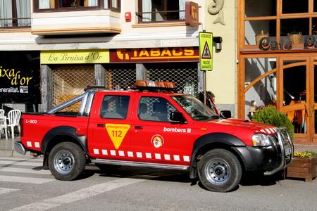 """Bombers"" по-испански означает ""Пожарные"""