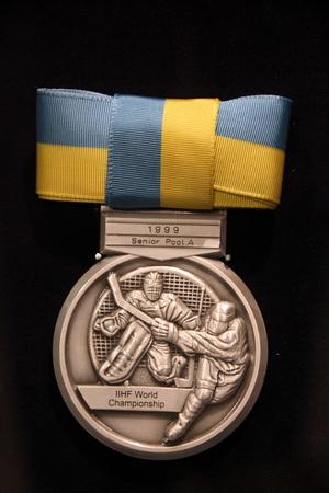 Музей хоккея встречает «градом» спортивных медалей