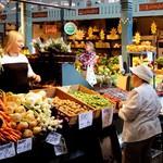 Финляндия. Тампере. Старый рынок.