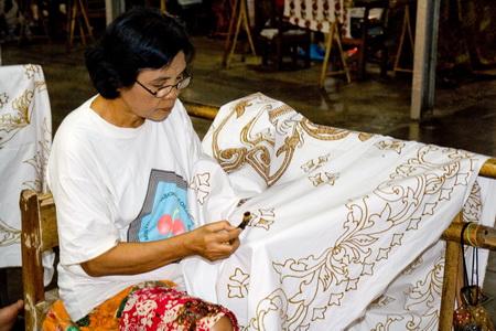 Изготовление батика