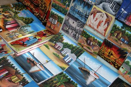 Гаитянская живопись такая же яркая как местная природа