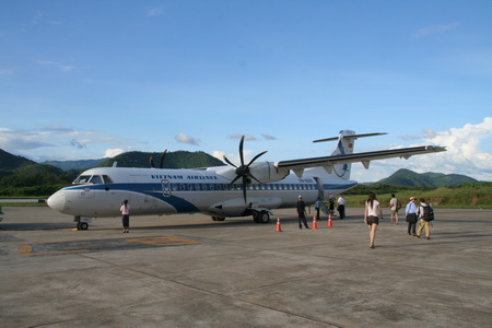 "В Лаос на крыльях ""Vietnam Airlines"""