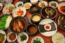Новогоднее застолье по-корейски