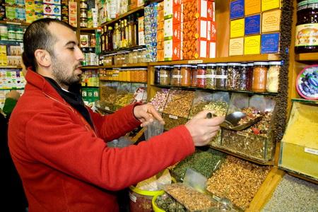 """""""Египетский рынок"""" славится своими специями"""