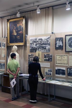 Музей охотно посещает финская молодежь