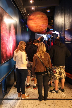 Вход в планетарий