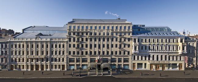 "Фасад отеля ""Коринтия Санкт-Петербург"""