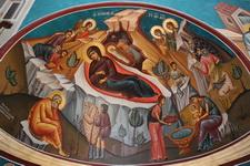 Роспись на куполе армянской церкви