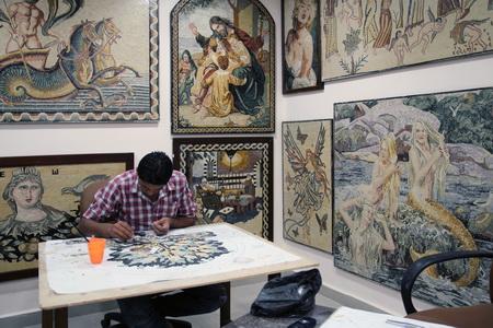Мадаба славится своими мозаиками