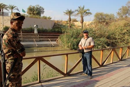 Река Иордан находится под бдительным надзором пограничников с обеих сторон
