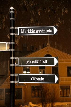 В Мессиля можно поиграть в зимний гольф!