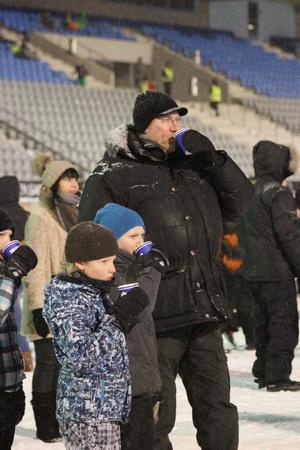 В финских традициях прийти на стадион семьей