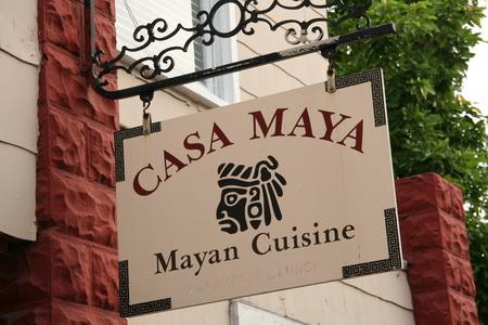 Ресторан кухни майя
