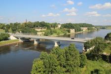 Российско-эстонская граница на реке Нарва