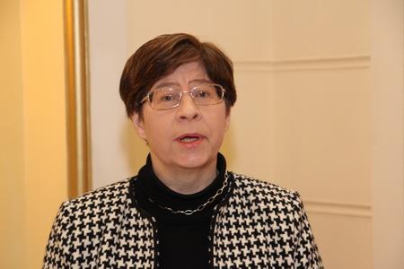 Мари-Луиз Ванхерк, генеральный консул Бельгии в Санкт-Петербурге