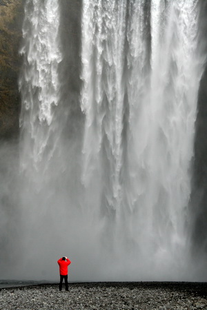 Не самый большой водопад