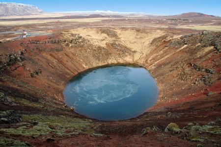 Кратер вулкана Керид