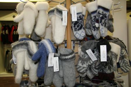 В магазинах есть все необходимое, чтобы не замерзнуть
