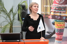 Наталья Лукичева, представитель Air Estonia в Санкт-Петербурге