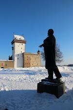 Ленин в Нарвском замке
