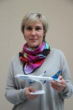 Наталья Лукичева, представитель компании Condor в Петербурге
