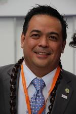 Карл Пэнглинен, генеральный директор туристического бюро Гуама