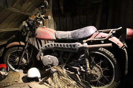 Экспозиция представляет всю историю производства мотоциклов