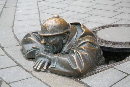 Знаменитый братиславский водопроводчик