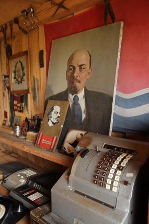 Имеется отдел, посвященной советскому периоду