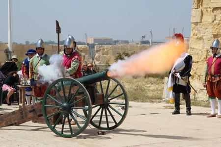 Артиллерийский холостой выстрел