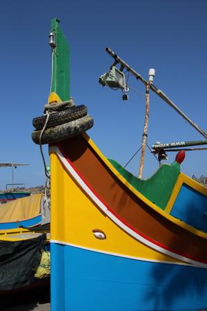 Рыбацкая лодка луццу
