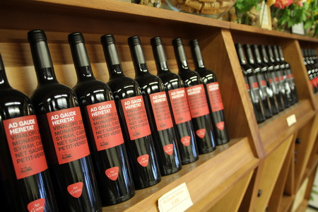 Магазин винодельни - это маленький музей