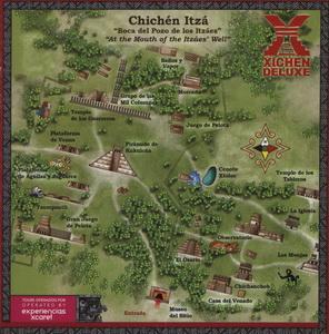 Карта Чичен-Ицы