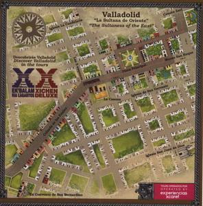 Карта Вальядолида