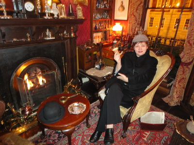 В лондонском музее Шерлока Холмса