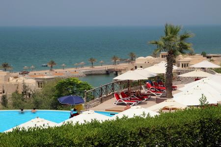 Пляж отеля «The Cove Rotana Resort»