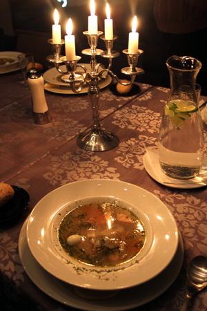 Ресторан «Fish&Wine». Уха из лосося и трески