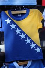 Так выглядит флаг Боснии и Герцеговины