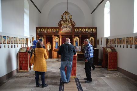 Храм был восстановлен во второй половине ХХ века