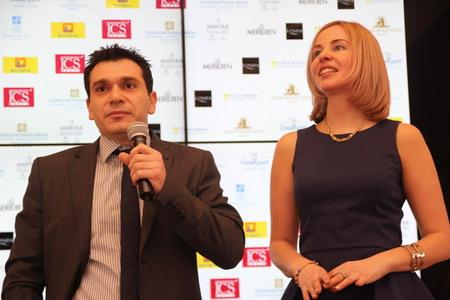 Димитрис Димитриу, Генеральный консул Кипра и Мария Михайлова, представитель КОТ в Санкт-Петербурге