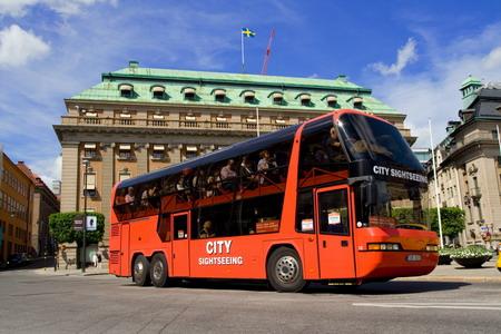 Экскурсионный автобус - лучший способ познакомиться с городом