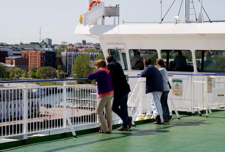 Стоянка в порту Таллинна