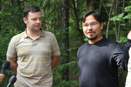 Сергей Загацкий (слева) и Баир Ириничев (справа)