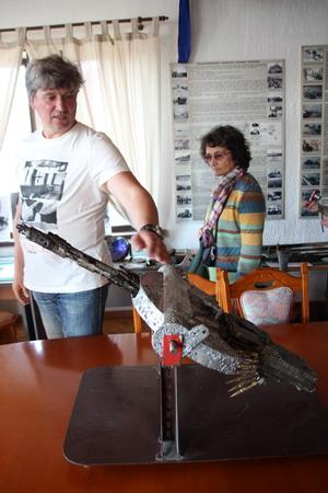 Немецкий авиационный пулемет, поднятый со дна Ладоги