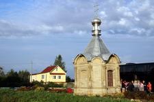 Спасская часовня облицована путиловским камнем