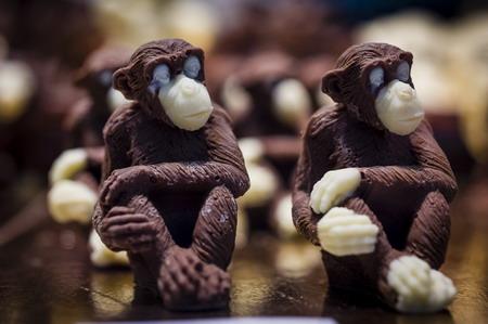 Даже для обезьяны возможна жизнь в шоколаде