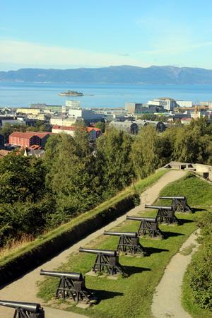 Вид из крепости «Кристианстен Фестнинг»